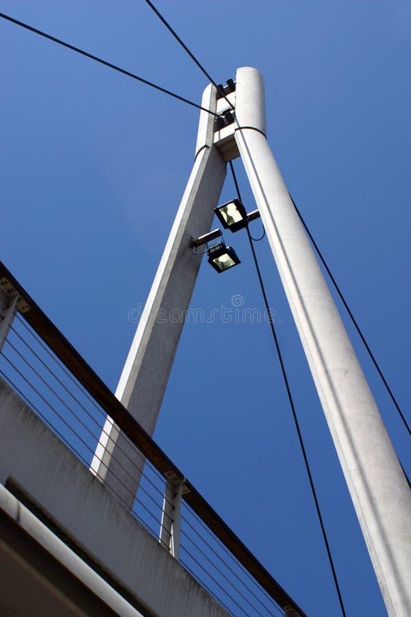 A Frame Bridge, Leeds royalty free stock image