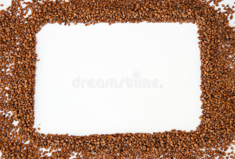 Download Frame Made Of Buckwheat Stock Image - Image: 29771301