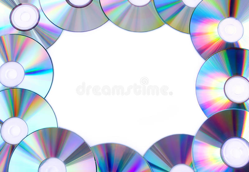 Download Frame from CDs stock image. Image of computers, pattern - 23464383