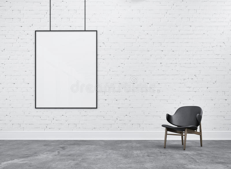 Frame And Chair In Warehouse Stock Photo Image Of Hanging Texture 57522594