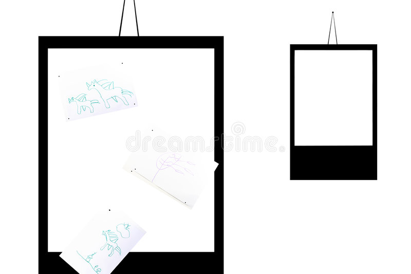 Download Frame With The Children Pictures Stock Image - Image of empty, image: 7603781