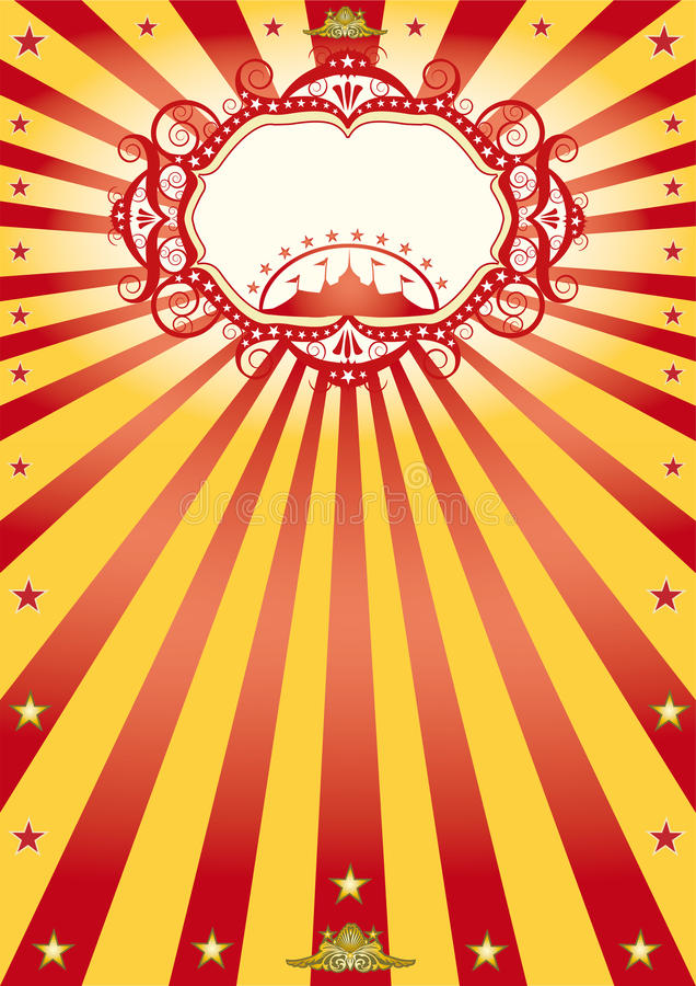 Frame circus poster stock vector. Illustration of copy - 24939065