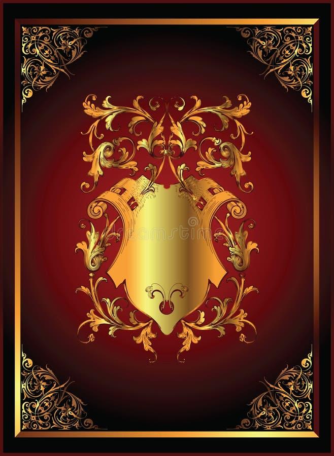 Frame clássico do projeto ilustração royalty free