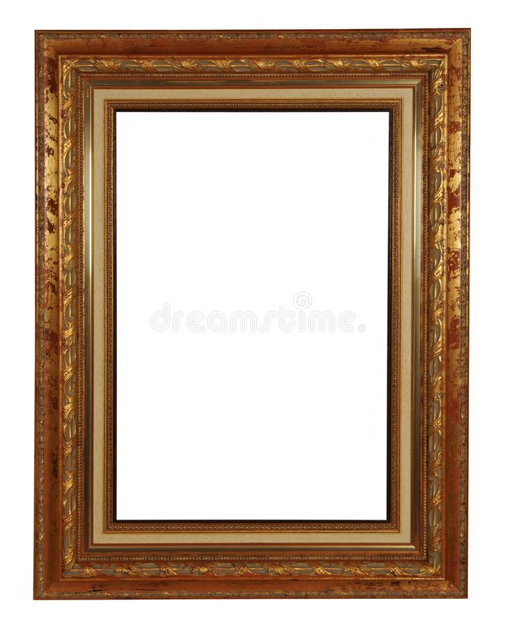 Frame with clipping path royalty free stock photos