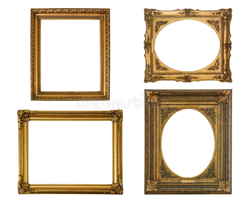 Frame collection stock photo
