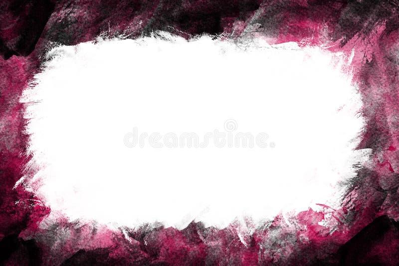 Frame colorido do grunge ilustração royalty free