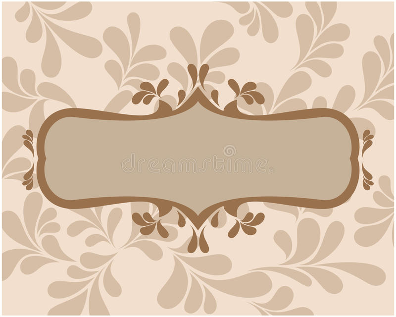 Download Frame With Curls For Text. Stock Images - Image: 17764194