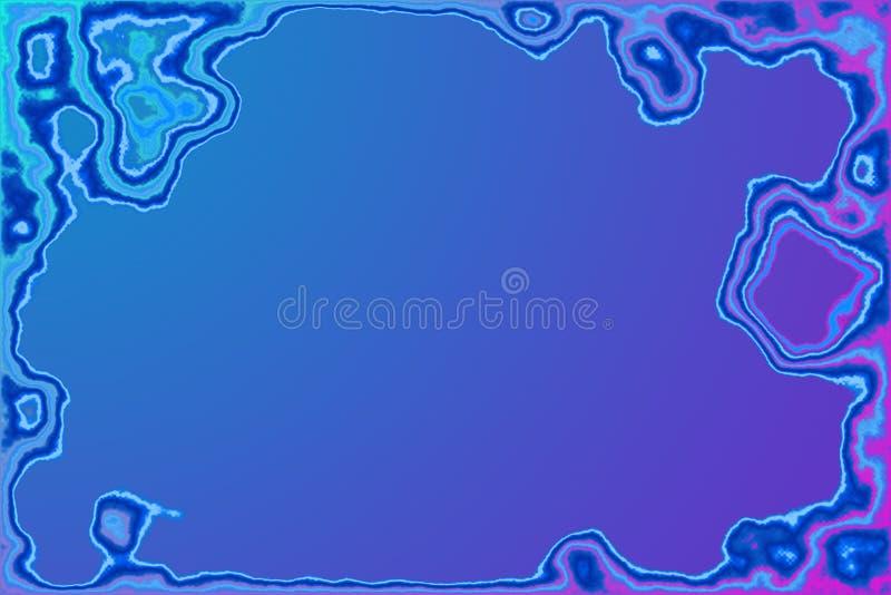 Download Frame da água do íon ilustração stock. Ilustração de grunge - 55454