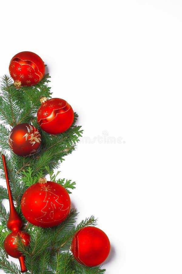 Frame da decoração do Natal fotos de stock