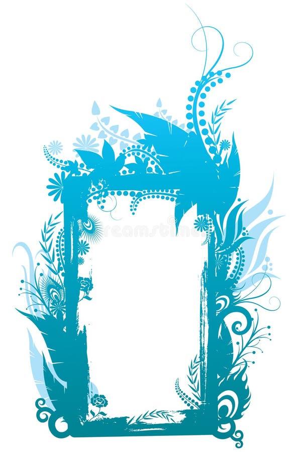 Frame da forma ilustração stock