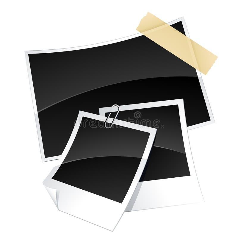 Frame da foto ilustração royalty free