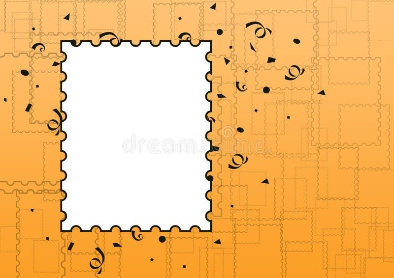 Frame da foto da celebração ilustração stock