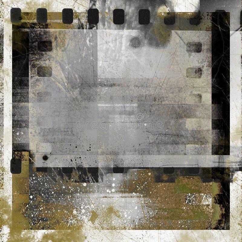 Frame da foto de Grunge imagem de stock royalty free