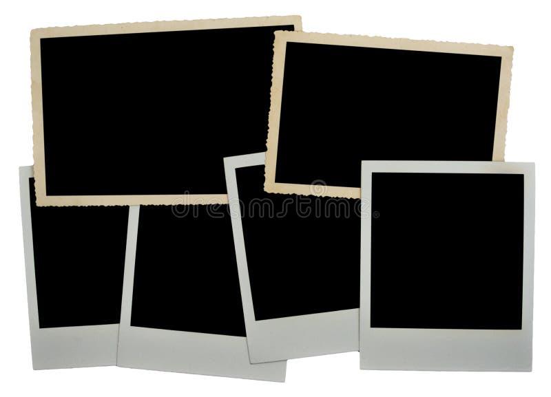 Frame da foto de uma foto vazia fotografia de stock