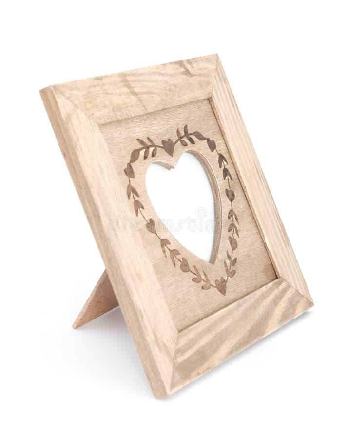 Frame da foto do coração fotografia de stock