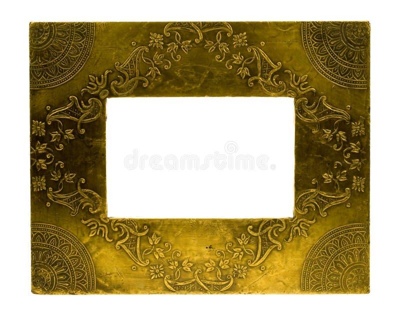 Frame da foto do metal fotografia de stock