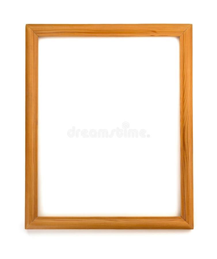 Frame da foto isolado no branco imagens de stock royalty free