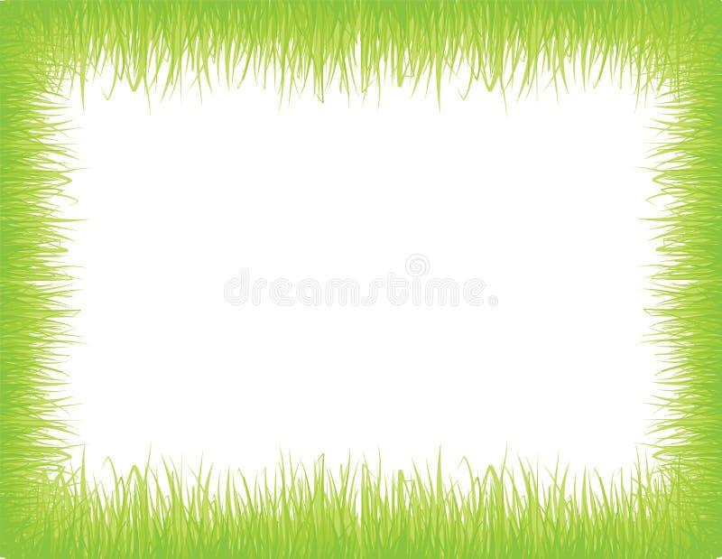Frame da grama ilustração royalty free