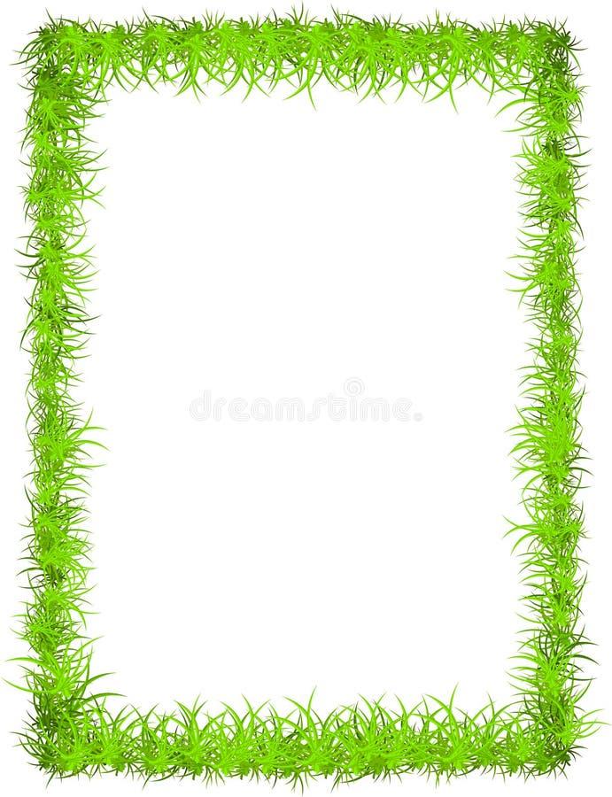 Frame da grama do vetor ilustração royalty free