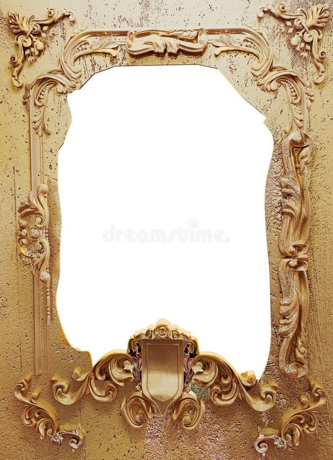 Frame danificado do metal ilustração royalty free