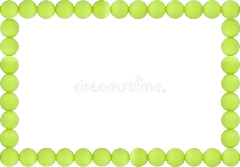 Frame das esferas de tênis ilustração royalty free