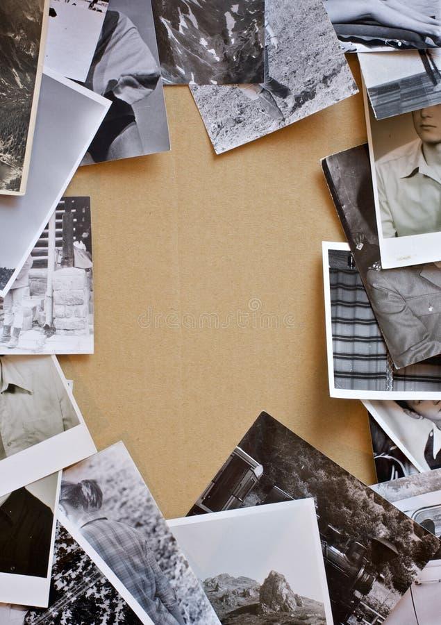 Frame das fotos do vintage fotos de stock