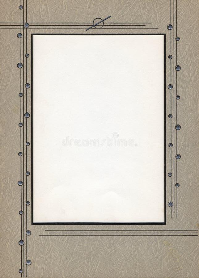 Frame de Deco fotografia de stock