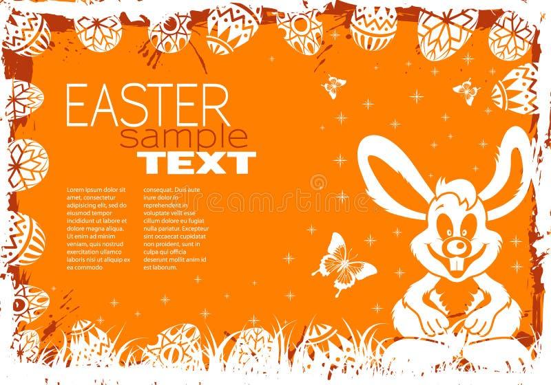 Frame de Easter ilustração royalty free