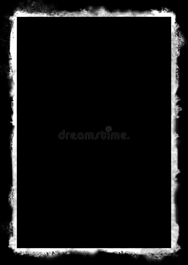 Frame de Grunge ilustração stock