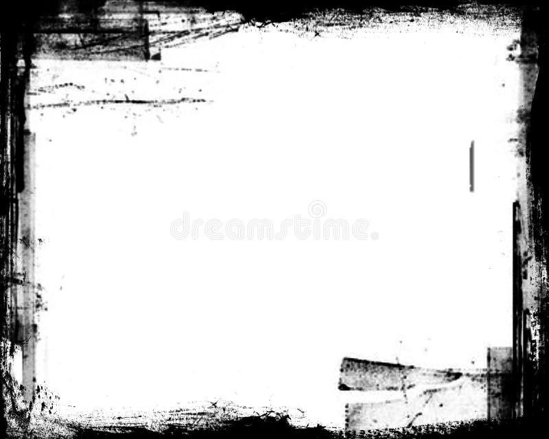 Frame de Grunge. ilustração do vetor