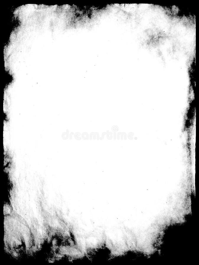 Frame de Grunge ilustração royalty free