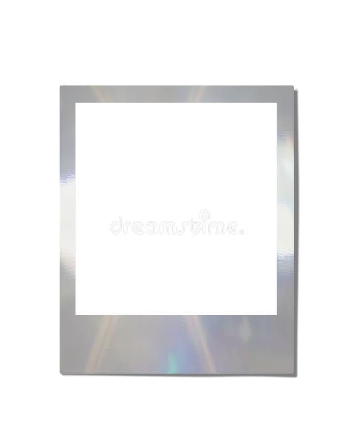 Frame de Instamatic do cromo ilustração royalty free