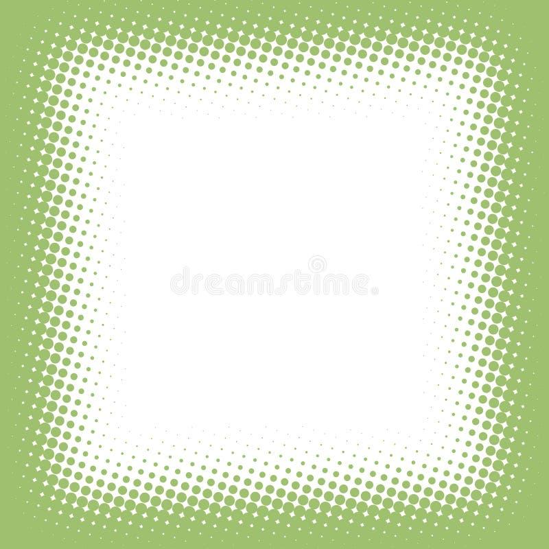 Frame de intervalo mínimo ilustração stock