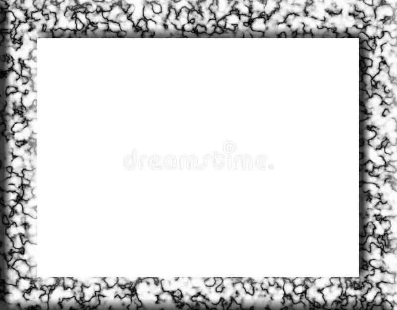 Frame de mármore ilustração royalty free