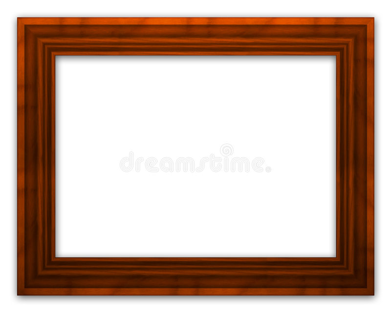 Frame de madeira fotografia de stock royalty free