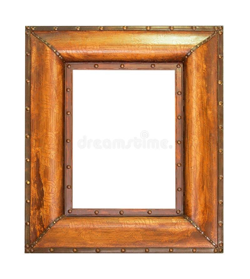 Frame de madeira bold(realce) imagens de stock