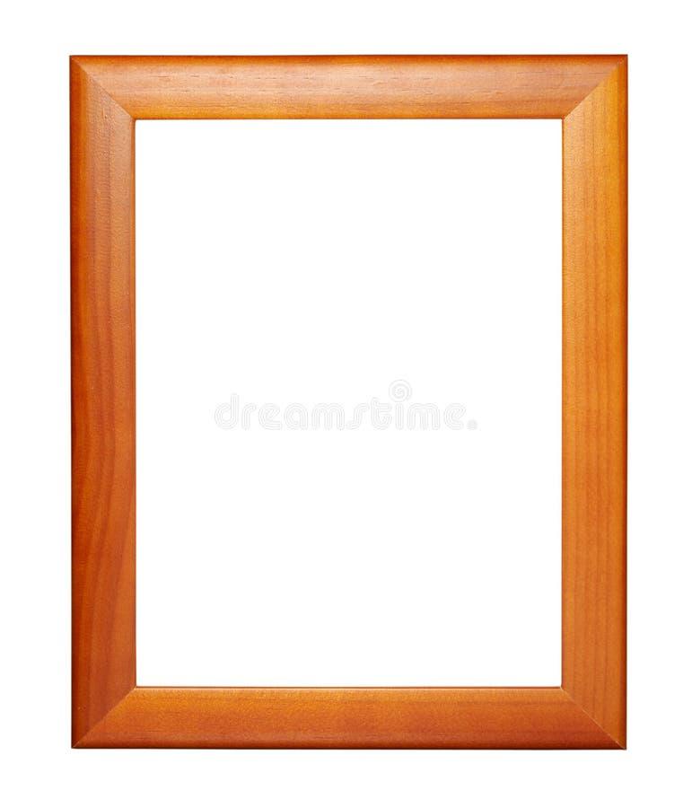 Frame de madeira novo fotografia de stock royalty free