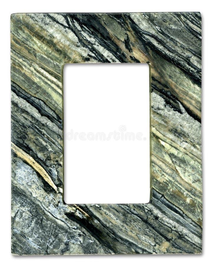 Frame de pedra natural fotografia de stock