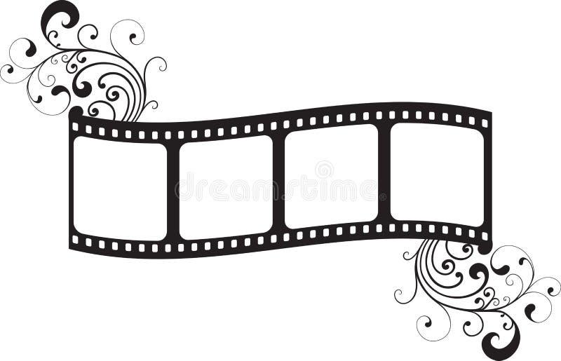 Frame de película ilustração royalty free
