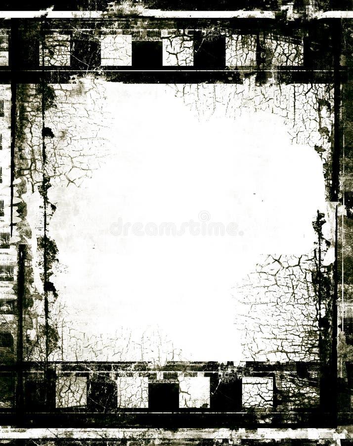 Frame de película ilustração stock