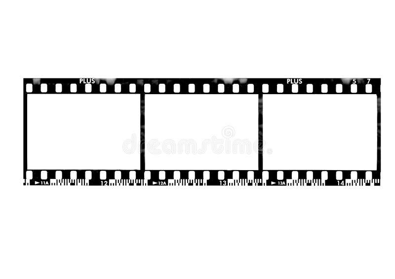 frame de película de 35mm ilustração stock
