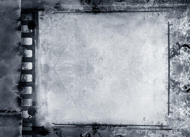 Frame de película de Grunge ilustração royalty free