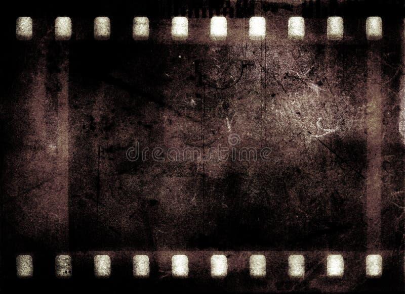 Frame de película de Grunge imagens de stock