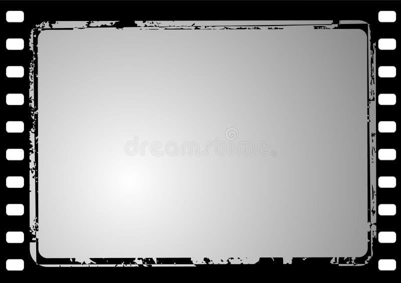 Frame de película de Grunge ilustração stock