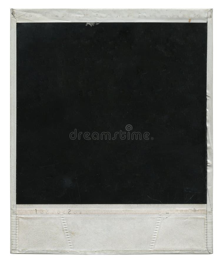 Frame de película do Polaroid foto de stock