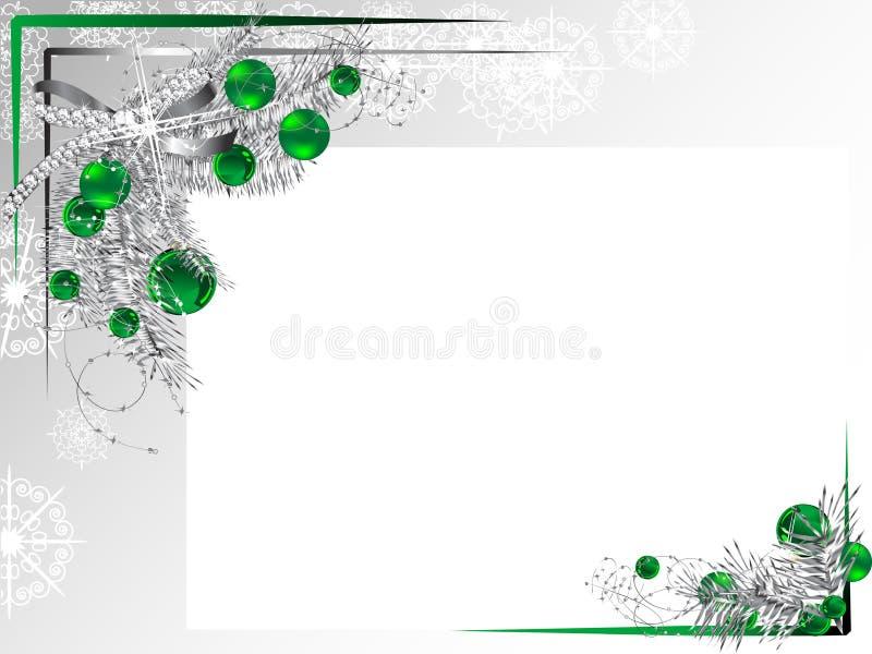 Frame de prata ilustração royalty free
