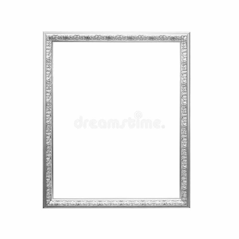 Frame de prata antigo fotos de stock royalty free