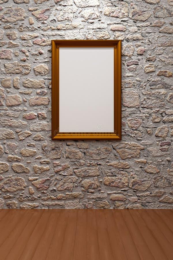 Frame de retrato ilustração do vetor