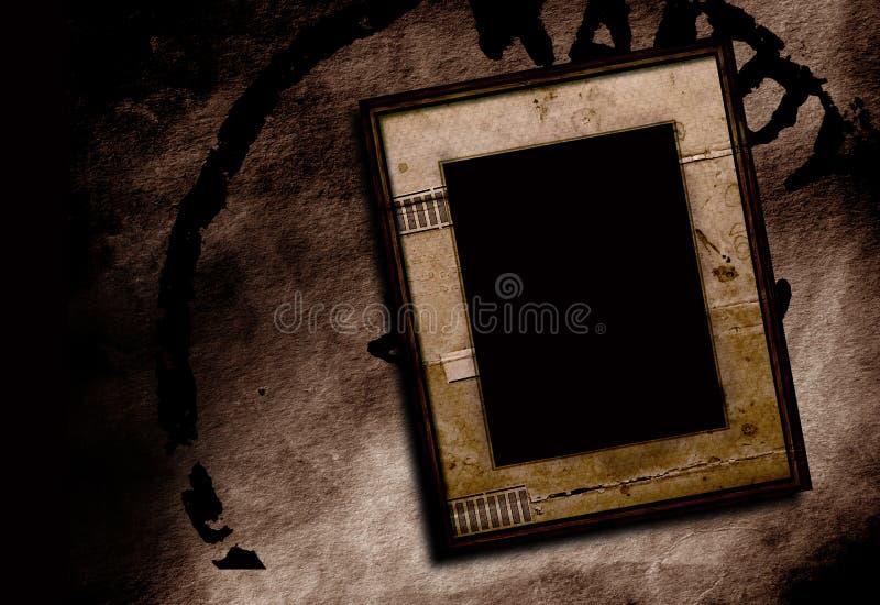Frame de retrato ilustração stock