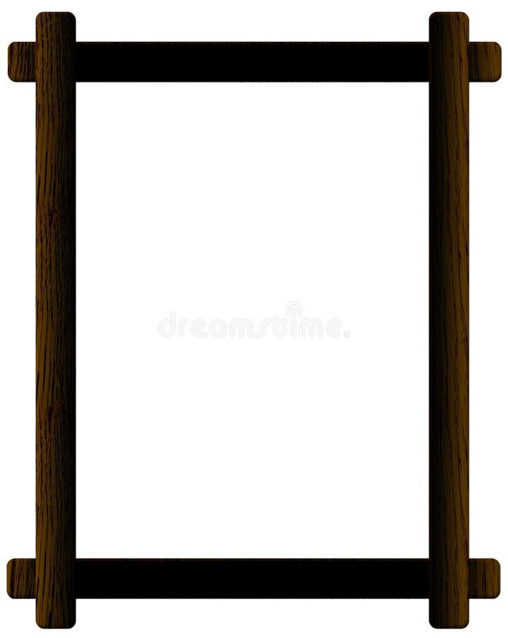 Frame de retrato ilustração royalty free